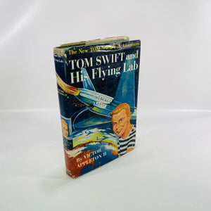 Tom Swift & His Flying Lab by Victor Appleton II 1954-Reading Vintage