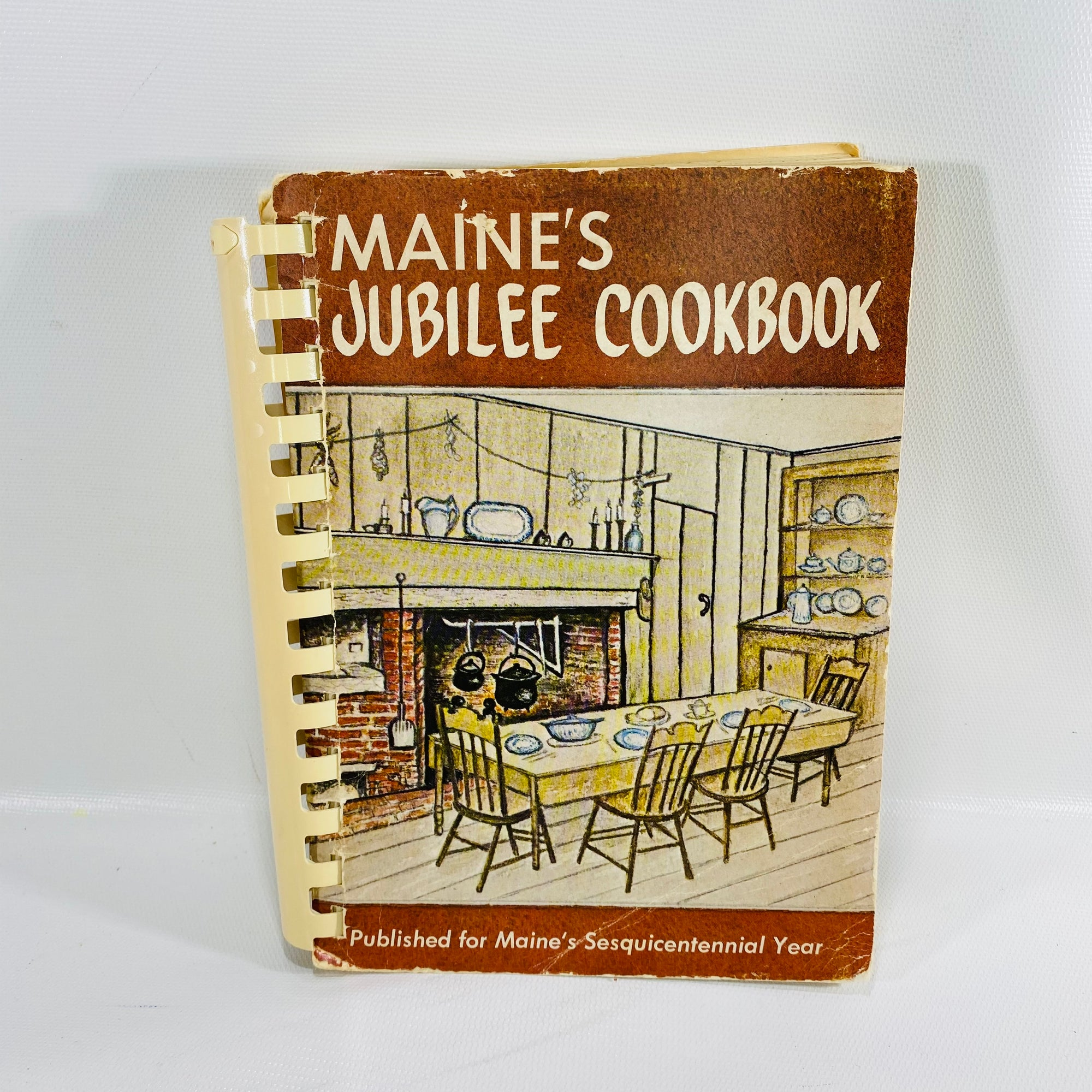 Maines Jubilee Cookbook by Maine's Sesquicentennial1972-Reading Vintage
