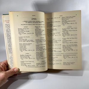 Meta Given's Modern Encyclopedia Volume 1 of Cooking by Ruth Berolzheimer 1955