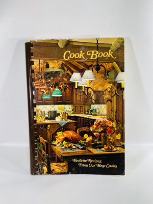 Cook Book Favorite Recipes by Eta Upsilon Omega Chapter Saginaw Mi 1964