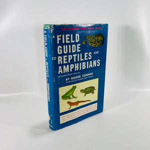 Field Guide Reptiles and Amphibians of Eastern North America By Roger Conant 1958