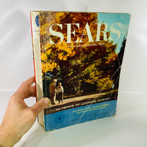 Sears Catalogue Fall & Winter 1961 Sears Roebuck & Co-Reading Vintage