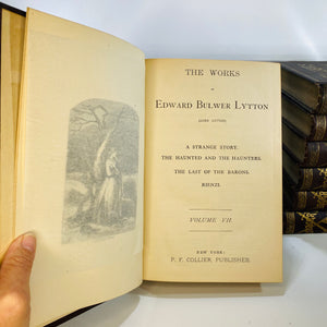Bulwer's Works The Works of Edward Bulwer Lytton Lord Lytton in nine volumes