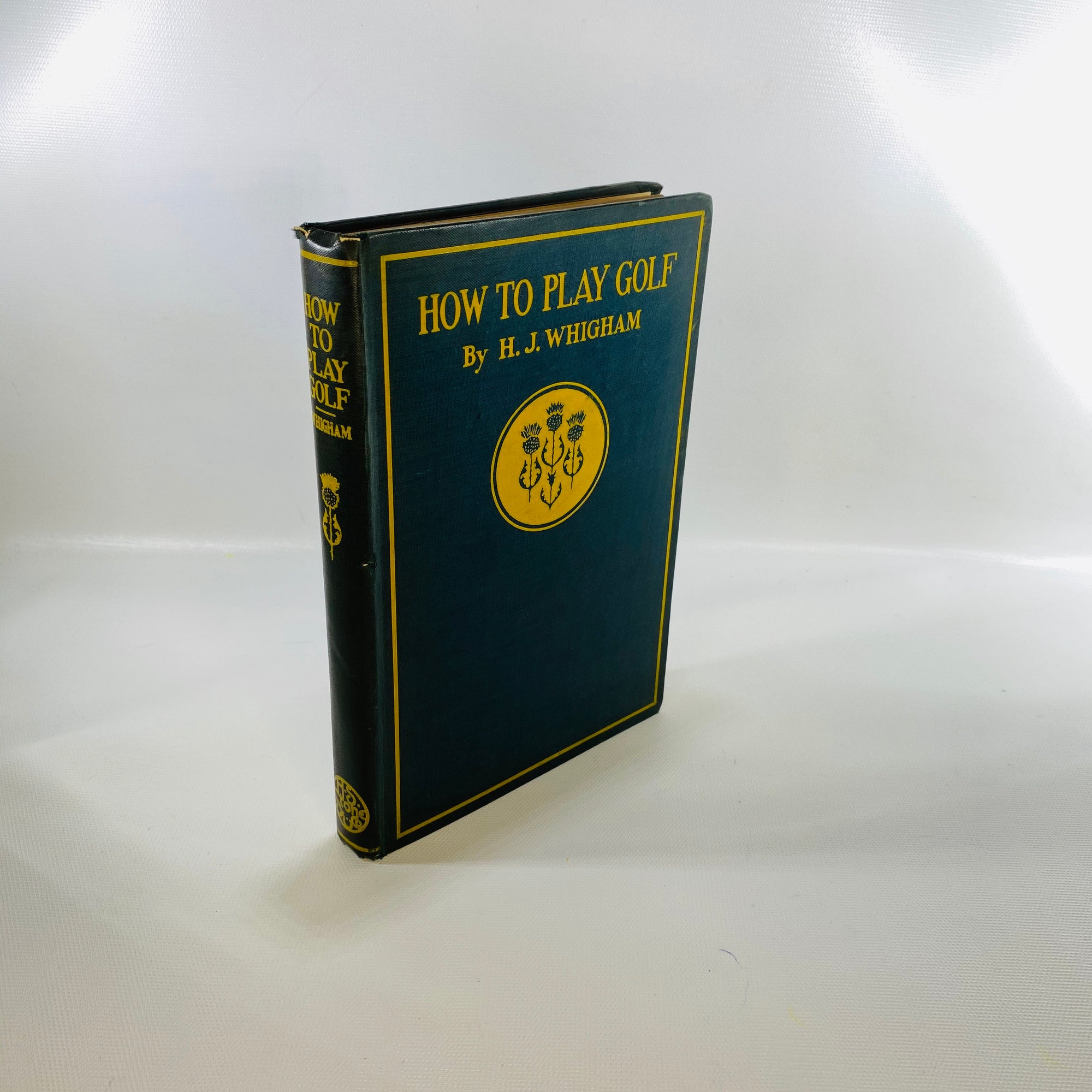 How To Play Golf by H. G. Whigham  1902-Reading Vintage