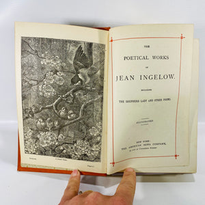 Poetical Works of Jean Ingelow American News Company-Reading Vintage