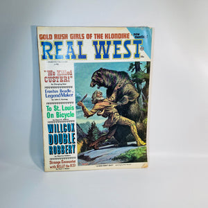 Real West Monthly Magazine June 1968 Number 60-Reading Vintage