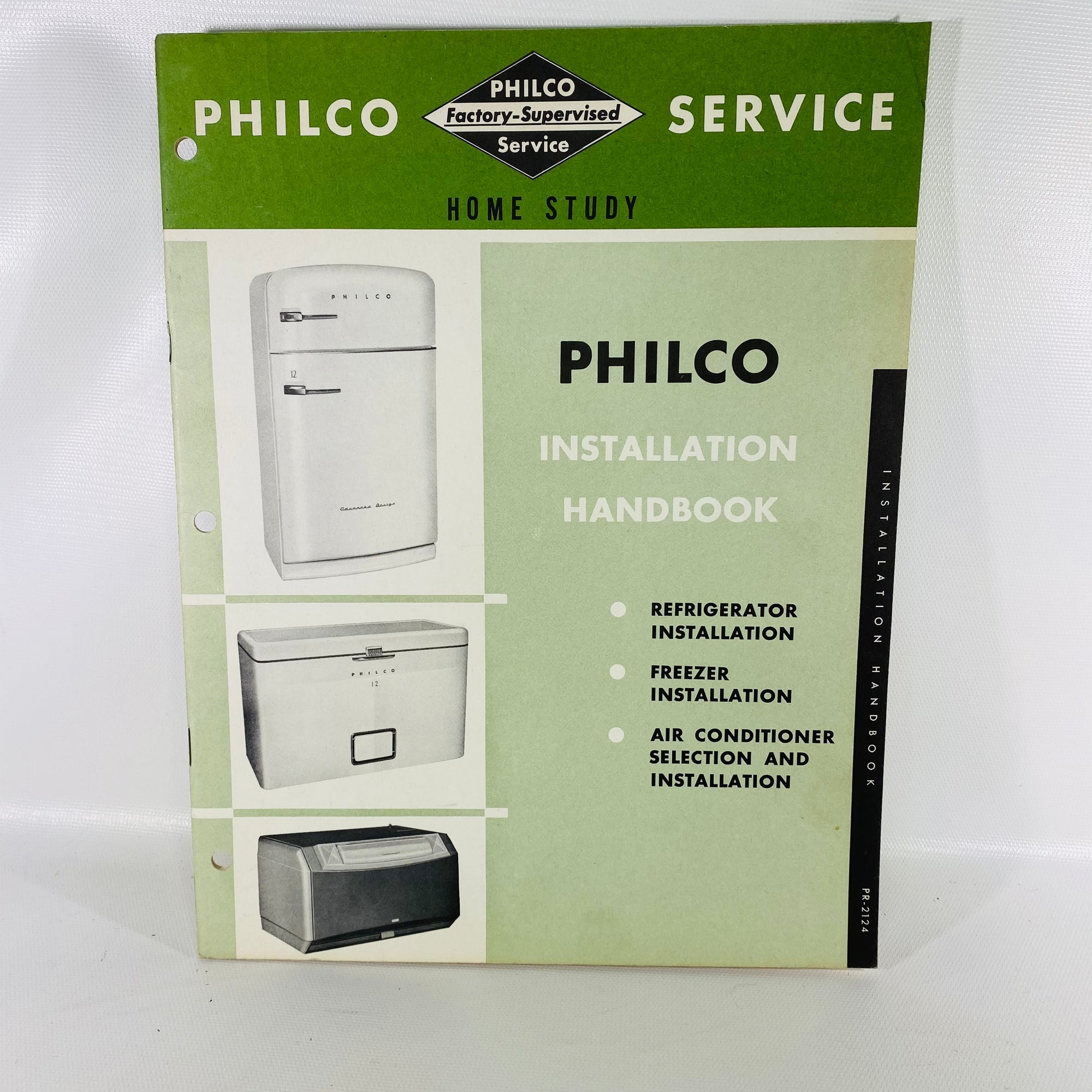 Philco Installation Handbook PR-2124 1952 Philco Corp-Reading Vintage