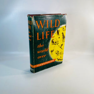 Wild Life the World Over by Traveled Specialists 1954-Reading Vintage