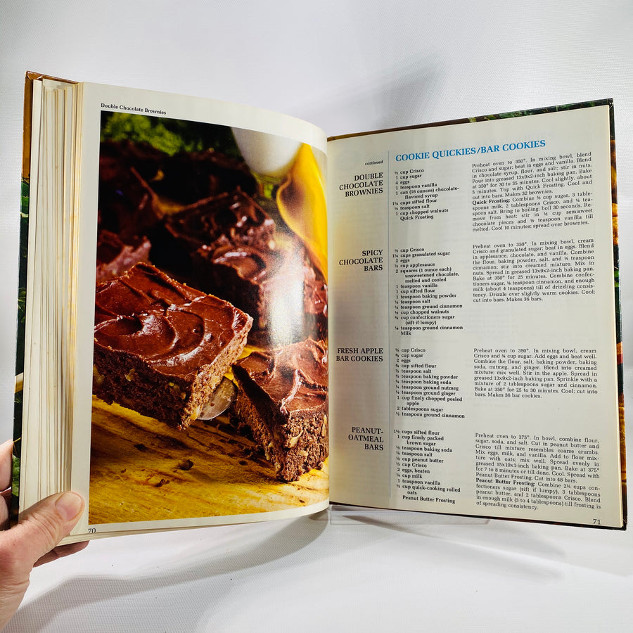 Crisco's Good Cooking Made Easy Cook Book 1978