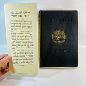 The Prophet by Kahilil Gibran 1965-Reading Vintage