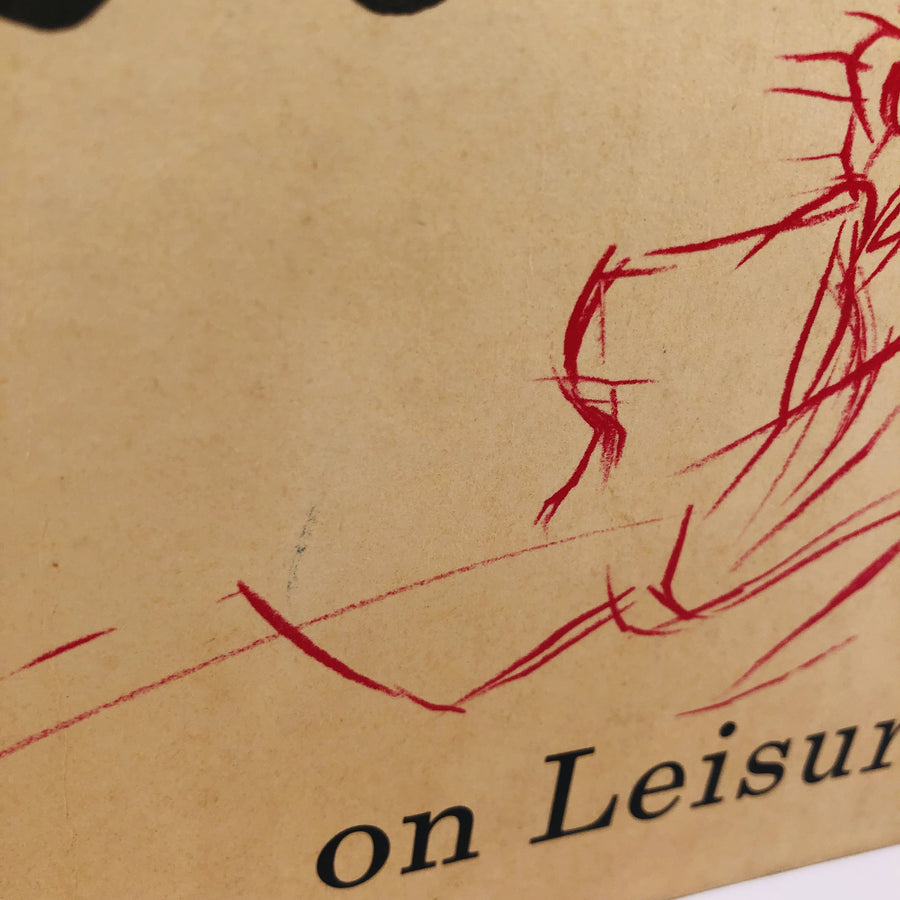 Osborn on Leisure 1956 A Vintage Illustrated Book