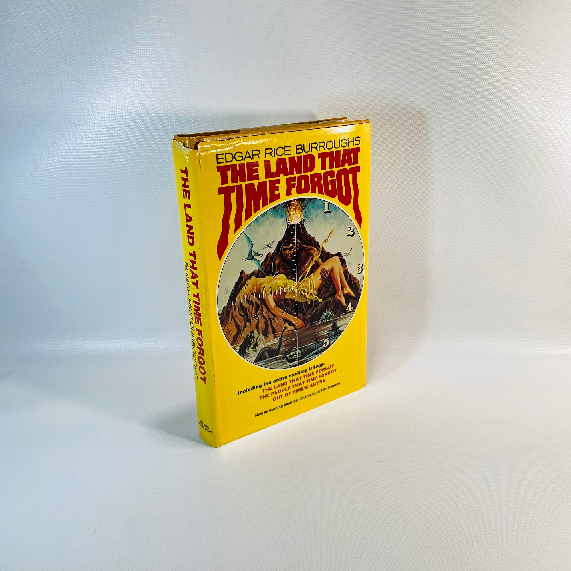 The Land that Time Forgot Trilogy by Edgar Rice Burroughs 1976-Reading Vintage