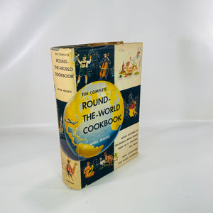 The Complete Round-the-World Cookbook  Myra Waldo 1958-Reading Vintage