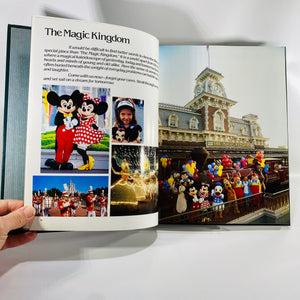 Walt Disney World 1986 15th Anniversary Souvenir Book