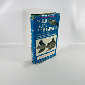 A Field Guide to the Mammals by William Burt 1964-Reading Vintage