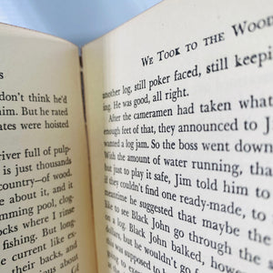 We Took to the Woods by Louse Dickinson Rich 1942-Reading Vintage