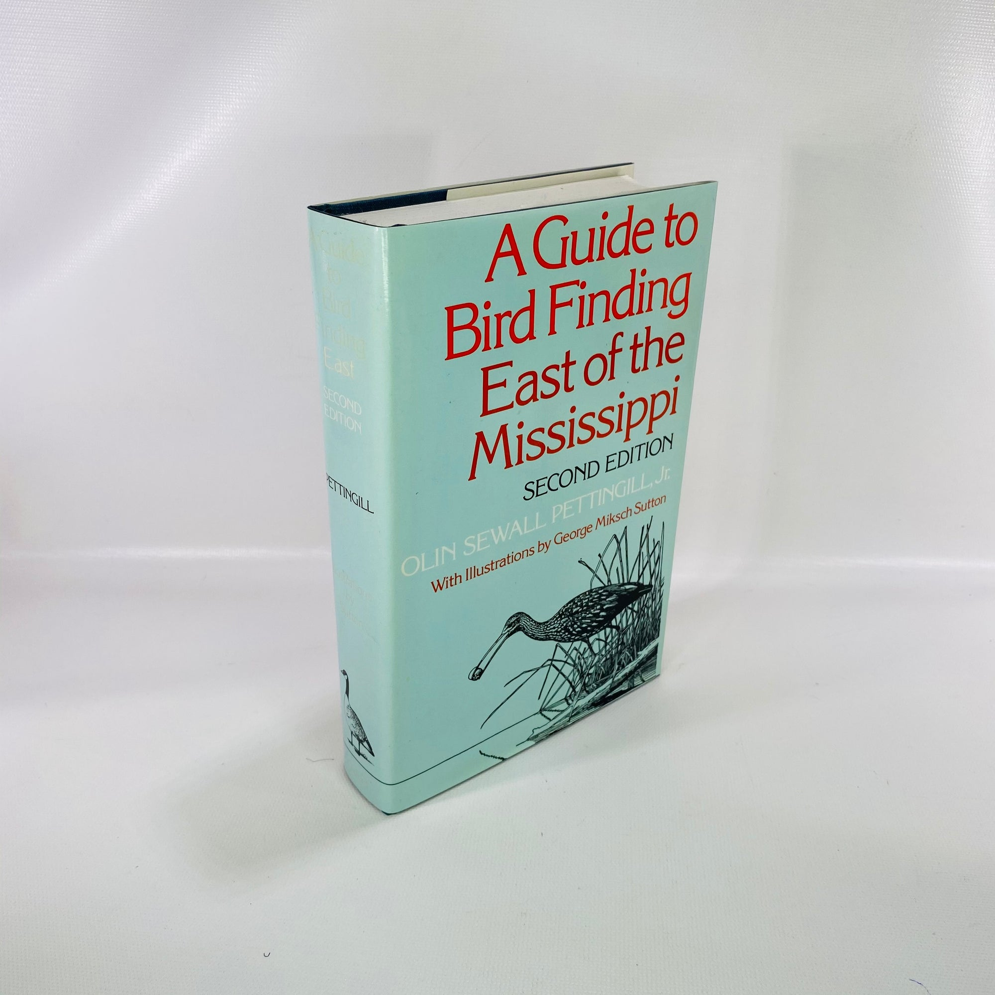 Guide to Bird Finding East of the Mississippi by O. Pettingill 1977-Reading Vintage