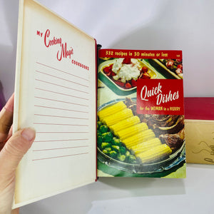 Cooking Magic Cookbooks Culinary Arts Institute 555 6-Reading Vintage