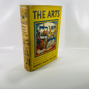 The Arts by Hendrik Wille Van Loon 1937-Reading Vintage