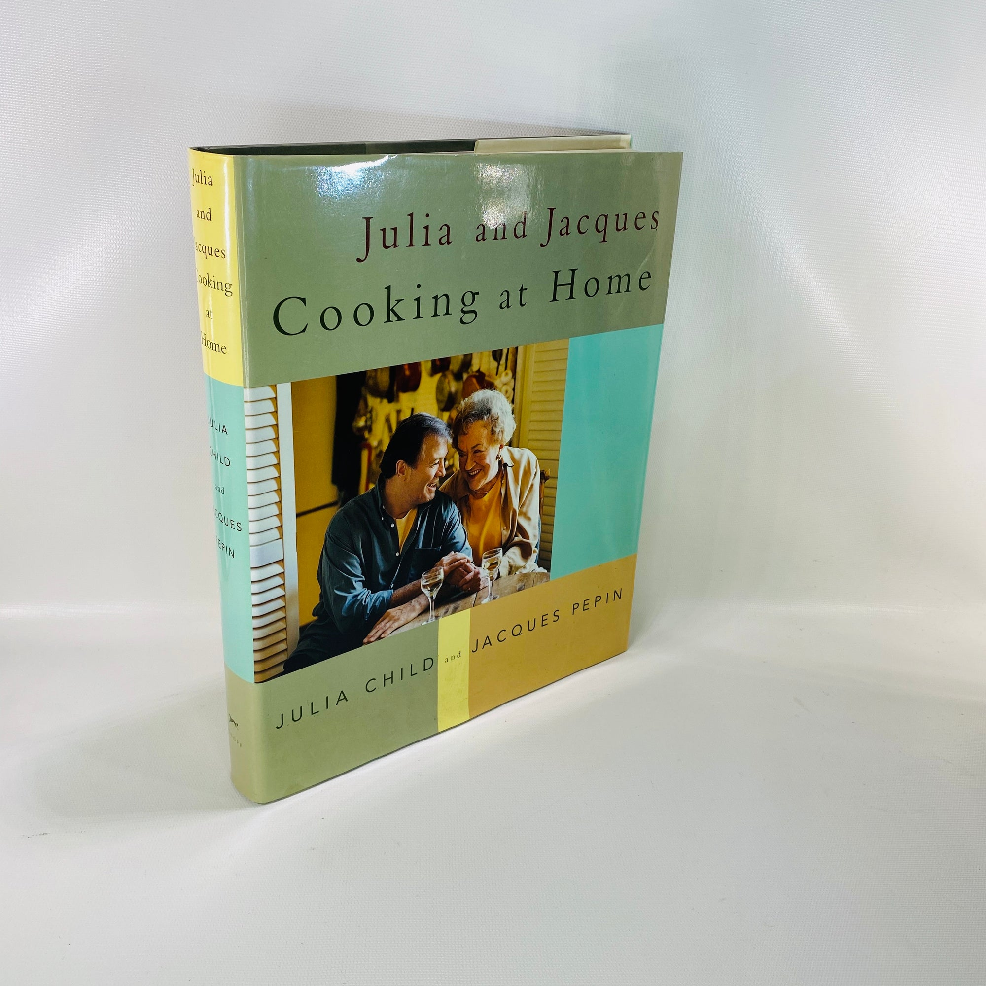 Julia and Jacques Cooking at Home by Julia Child  2000-Reading Vintage