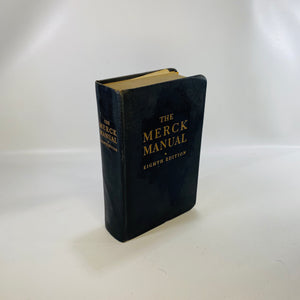 The Merck Manual of Diagnosis & Therapy Eighth Edition 1950-Reading Vintage