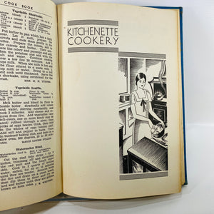 Chicago Daily News Cookbook by Chicago Daily News 1930-Reading Vintage