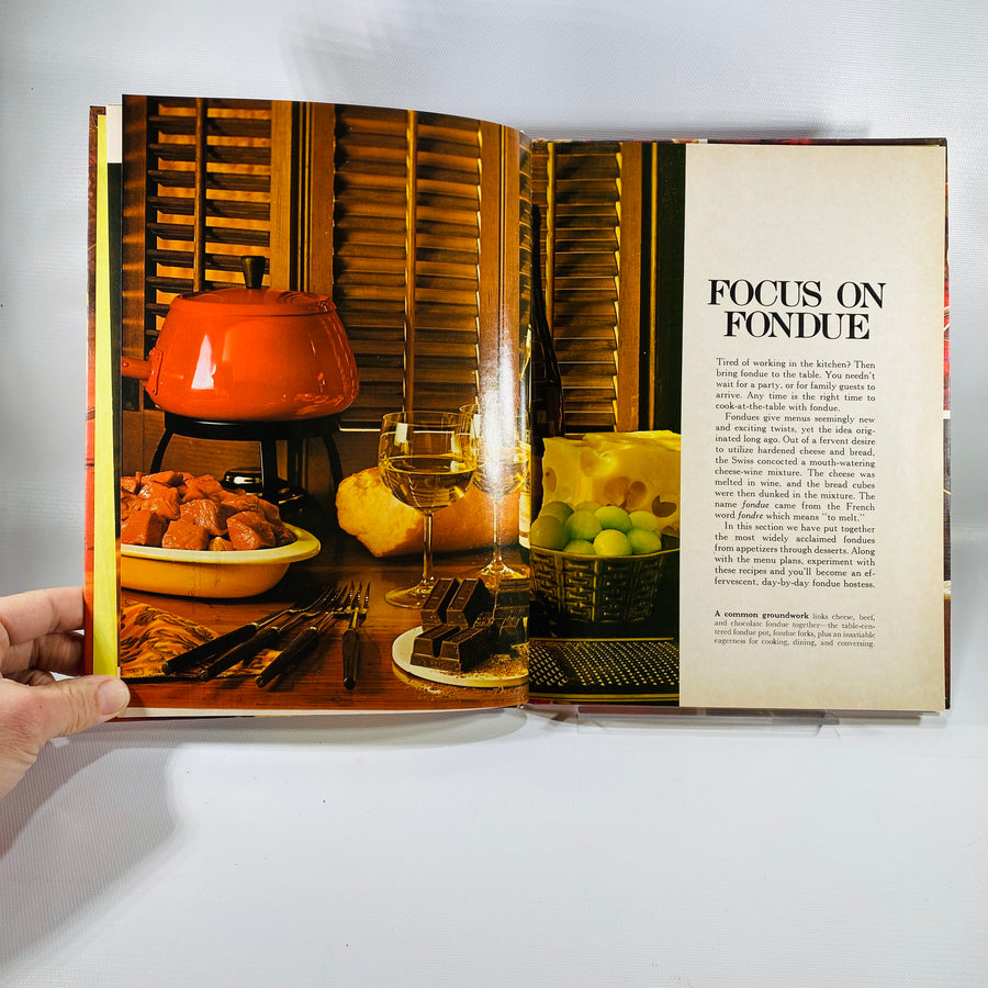 Better Homes and Garden Fondue and Tabletop Cooking 1970