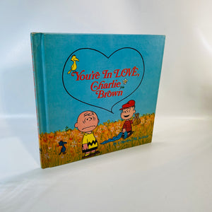 You're in Love Charlie Brown by Charles Schultz 1968-Reading Vintage