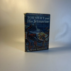 Tom Swift and His Jetmarine by Victor Appleton Book 3 in the Series with Original Dust Jacket