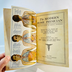 The Modern Home Physician with Manikins Edited by Victor Robinson Ph.C 1939