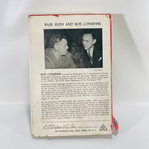 The Babe Ruth Story by Babe Ruth & Bob Considine 1948-Reading Vintage