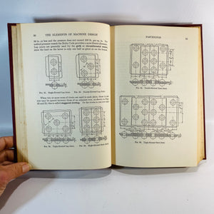 The Elements of Machine Design by S. Berard 1943-Reading Vintage