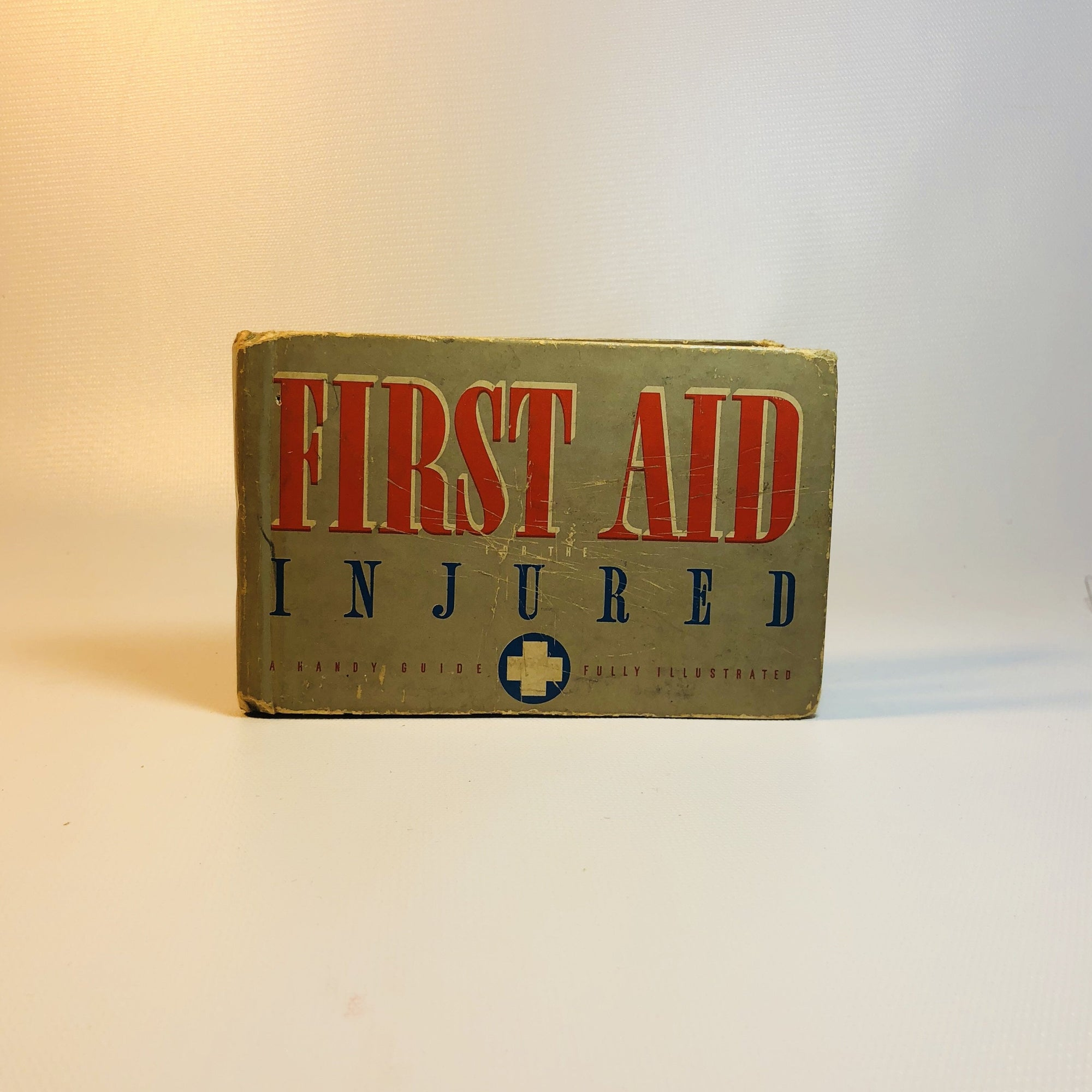 First Aid Injured A Handy Guide to First Aid by James Zwersch District Commander of First Aid Boy Scouts of America- 1937