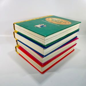 Little Golden Book Library Cased Set of Four 1942-Reading Vintage