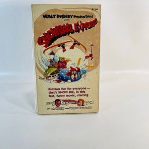 Snowball Express by Joe Claro 1980-Reading Vintage