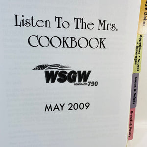 Listen to the Mrs Cookbook by WSGW Radio Station 2009-Reading Vintage