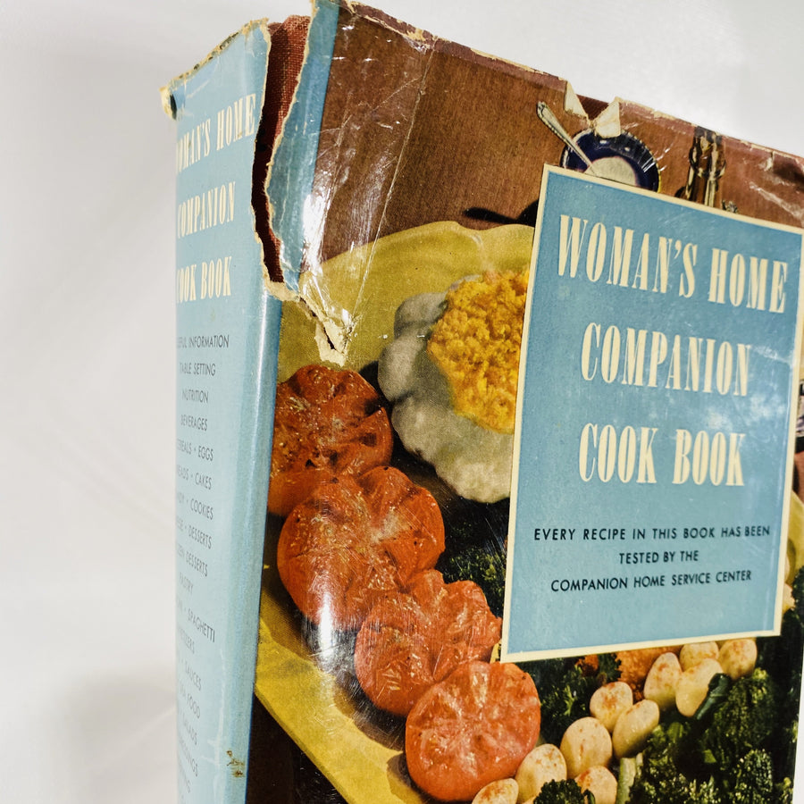 Vintage Woman's Home Companion Cook Book Edited by Dorthy Kirk 1946
