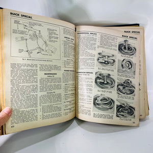 Motor's Auto Repair Manual Editor Ralph Ritchen 1961-Reading Vintage