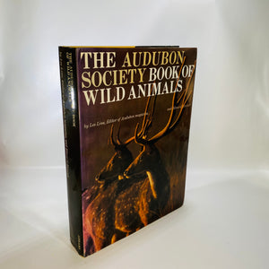 Audubon Society Book Wild Animals by Les Line 1977-Reading Vintage