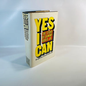 Yes I Can The Story of Sammy Davis Jr. 1965-Reading Vintage