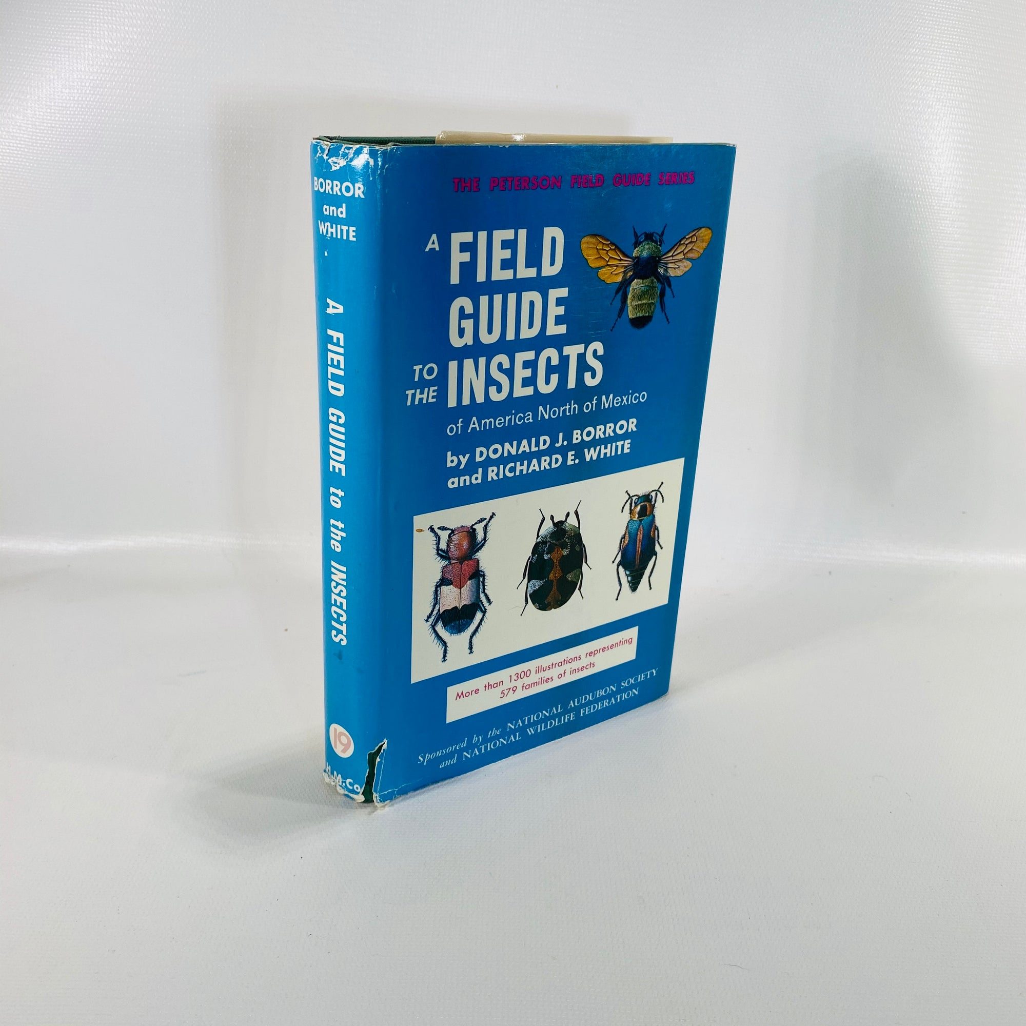 A Field Guide to the Insects by Donald Borror 1970-Reading Vintage