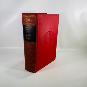 Collected Works of Emile Zola One Volume Edition 1938-Reading Vintage