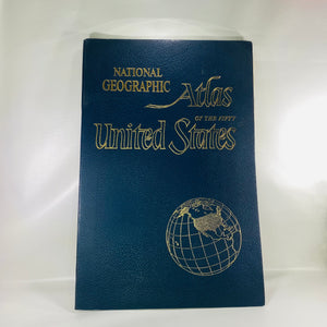 National Geographic Atlas of Fifty United States 1960-Reading Vintage