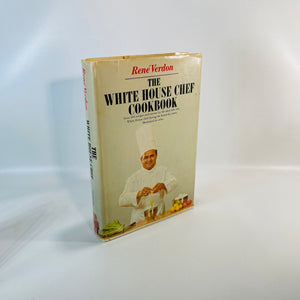 The White House Cookbook by Rene' Verdon 1967-Reading Vintage