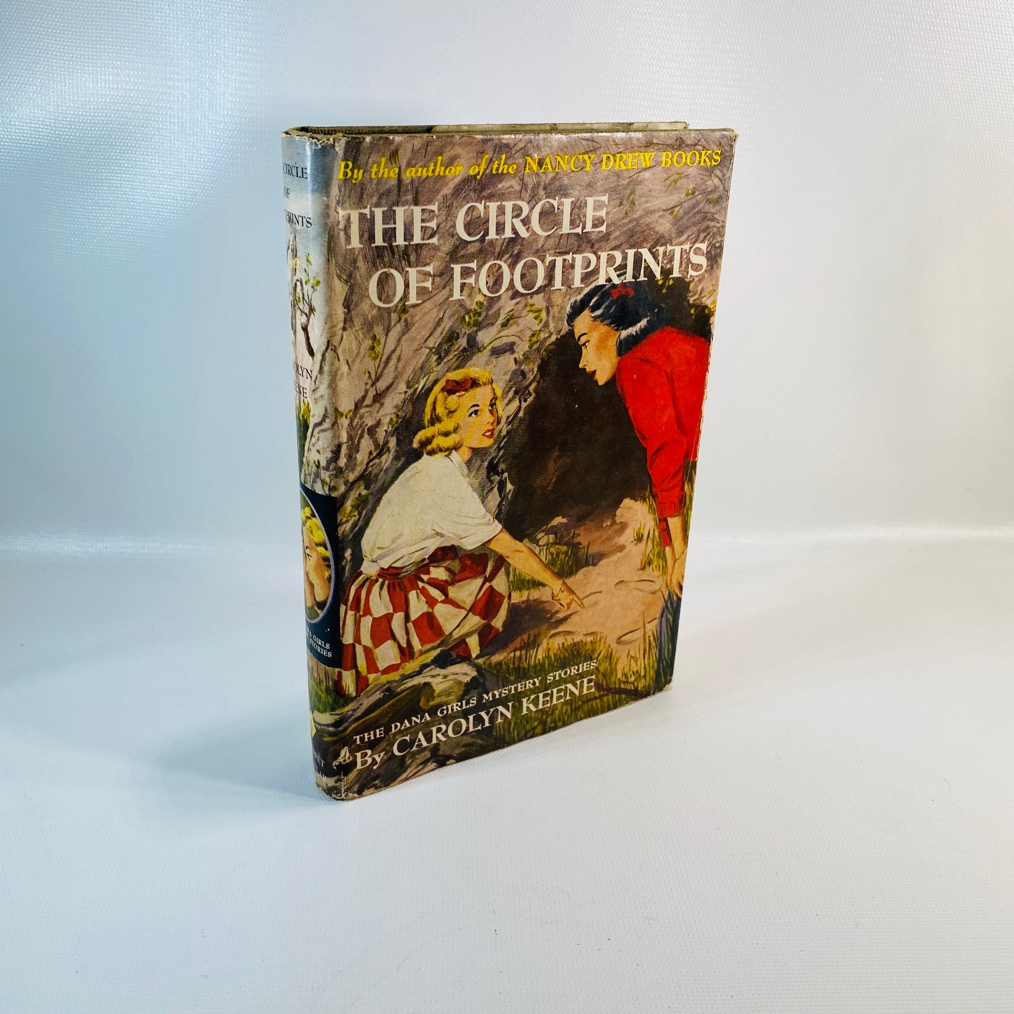 The Circle of Footprints by Carolyn Keene 1937-Reading Vintage