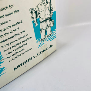 Fishing Made Easy by Arthur L. Cone Jr. First Printing 1968