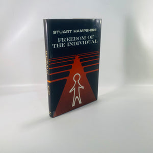 The Freedom of the Individual by Stuart Hampshire 1965-Reading Vintage