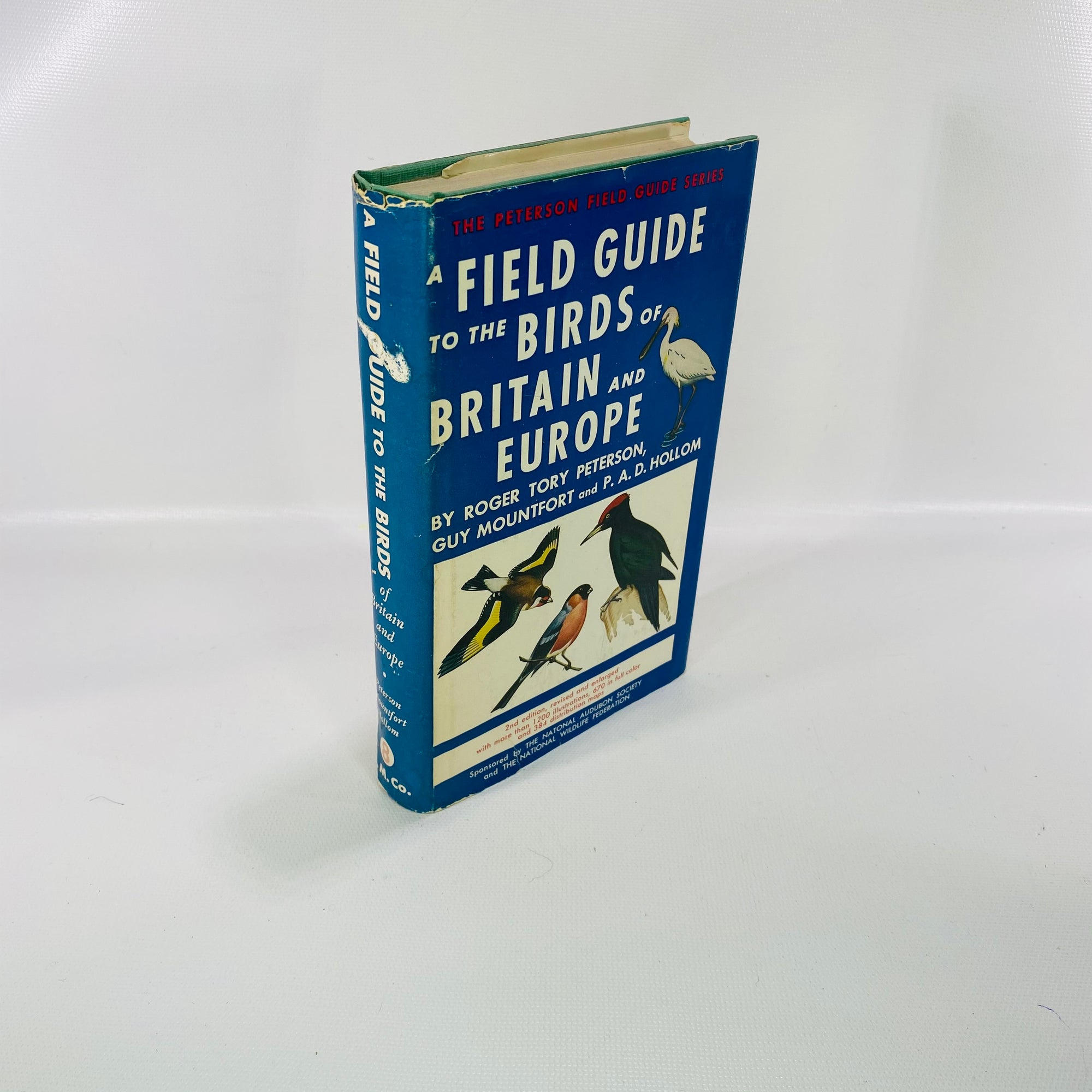 Field Guide Birds of Britain & Europe by R Peterson 1967-Reading Vintage