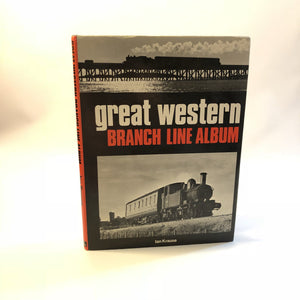 Great Western Branch Line Album Ian Krause 1974