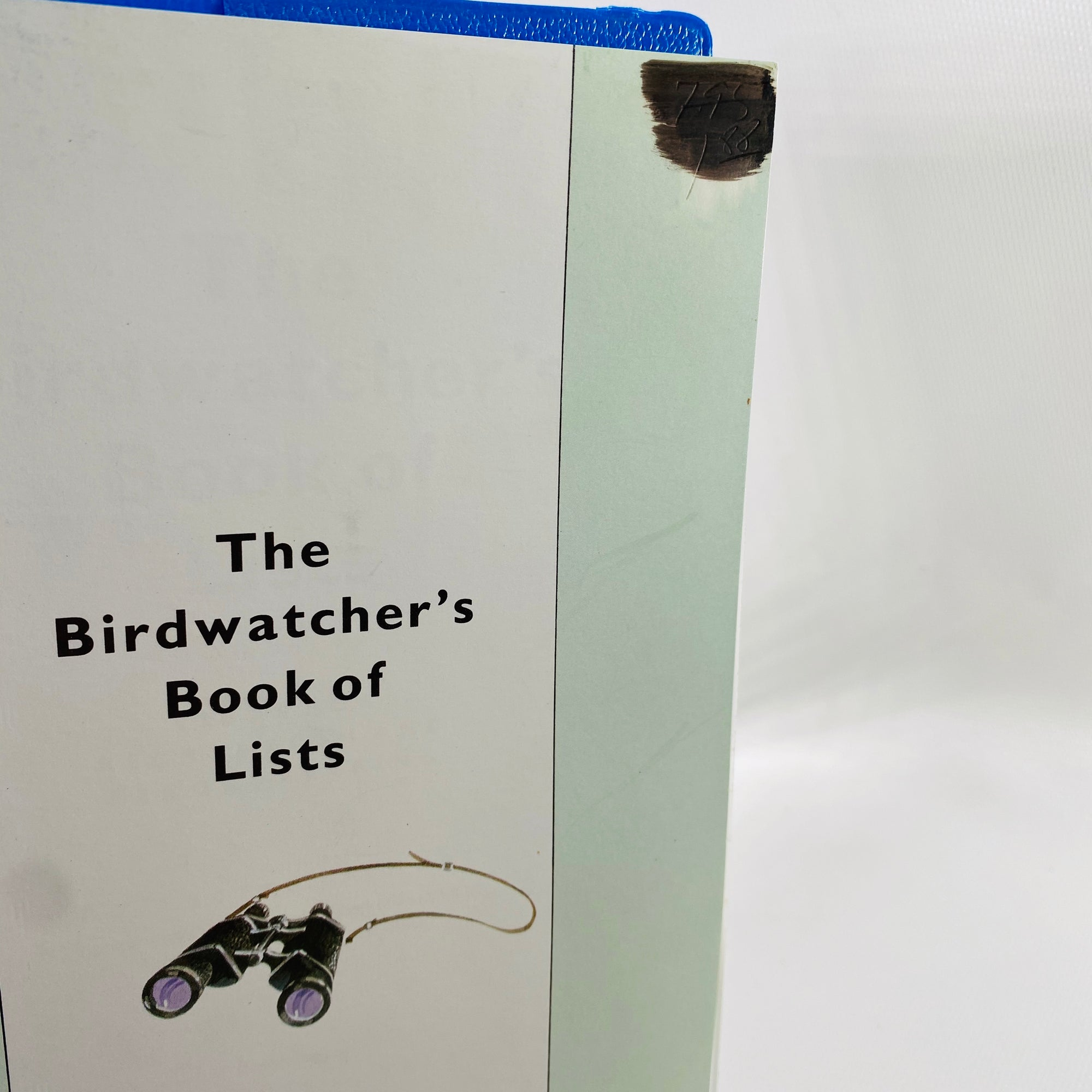 The Birdwatcher's Book of Lists by Dr. Lester Short 1987 First Printing